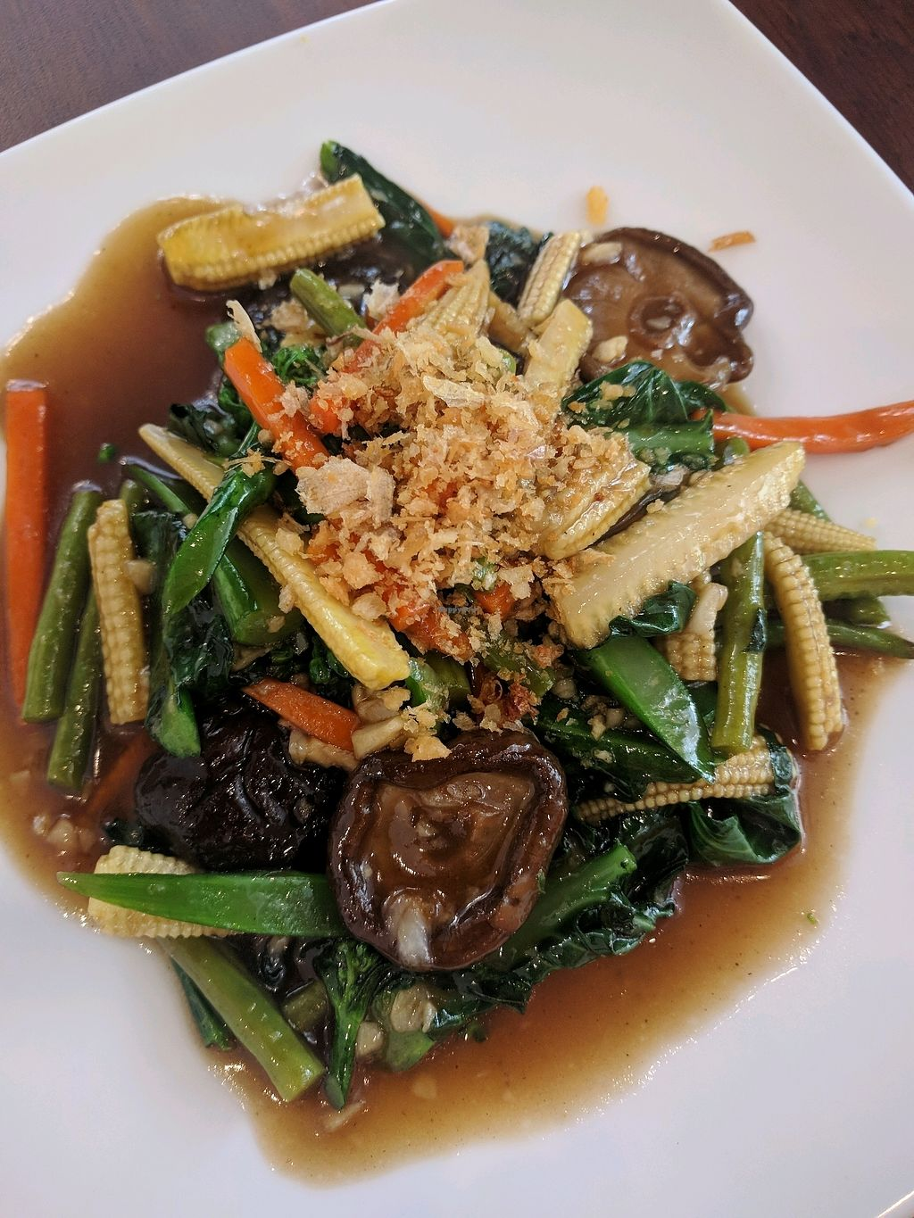 "Photo of ThaiExpress  by <a href=""/members/profile/VeganSoapDude"">VeganSoapDude</a> <br/>Veggies <br/> March 6, 2018  - <a href='/contact/abuse/image/113826/367558'>Report</a>"