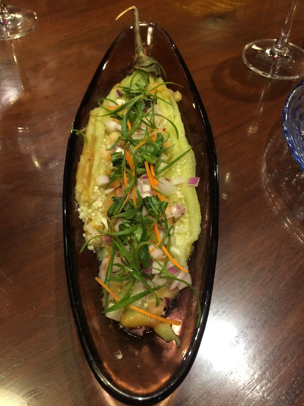 """Photo of Subo  by <a href=""""/members/profile/Bethevegan"""">Bethevegan</a> <br/>Pickled eggplant <br/> March 20, 2018  - <a href='/contact/abuse/image/113836/373351'>Report</a>"""