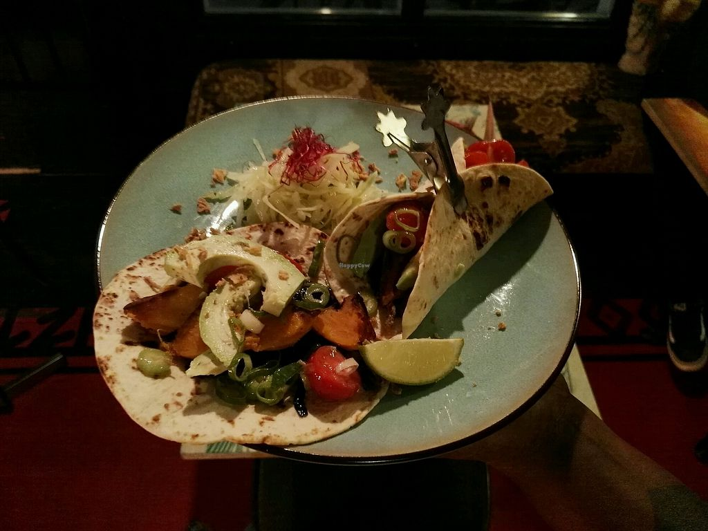 """Photo of Toko Trash  by <a href=""""/members/profile/kristaov"""">kristaov</a> <br/>vegan taco's <br/> March 7, 2018  - <a href='/contact/abuse/image/113841/367642'>Report</a>"""
