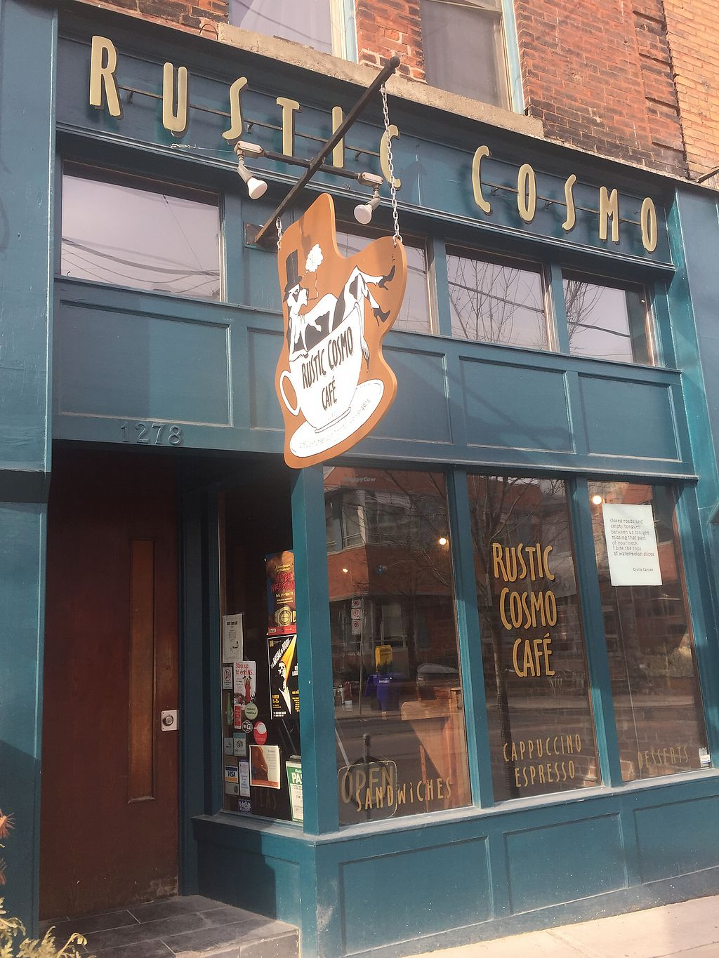 """Photo of Rustic Cosmo Cafe  by <a href=""""/members/profile/Gracem"""">Gracem</a> <br/>Store front <br/> March 9, 2018  - <a href='/contact/abuse/image/113853/368617'>Report</a>"""