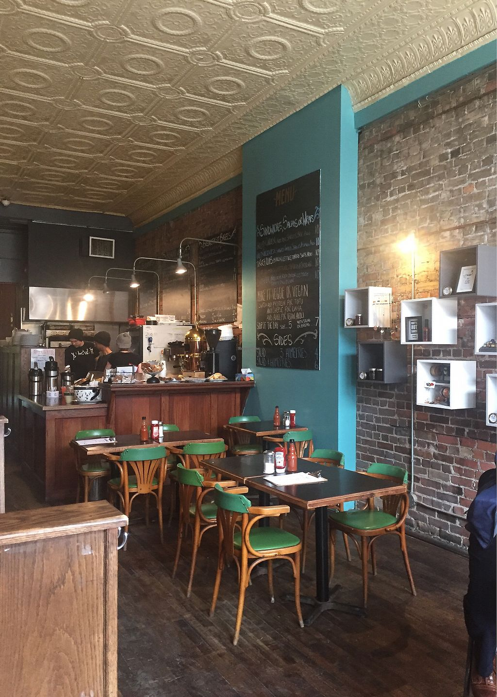 """Photo of Rustic Cosmo Cafe  by <a href=""""/members/profile/Gracem"""">Gracem</a> <br/>Rustic decor <br/> March 9, 2018  - <a href='/contact/abuse/image/113853/368624'>Report</a>"""