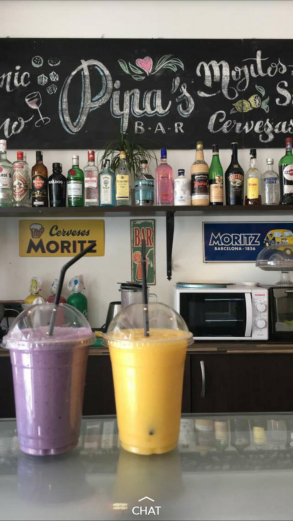 "Photo of Pipa's Bar  by <a href=""/members/profile/AthenaTrombly"">AthenaTrombly</a> <br/>Berry and mango smoothies  <br/> March 8, 2018  - <a href='/contact/abuse/image/113916/368194'>Report</a>"