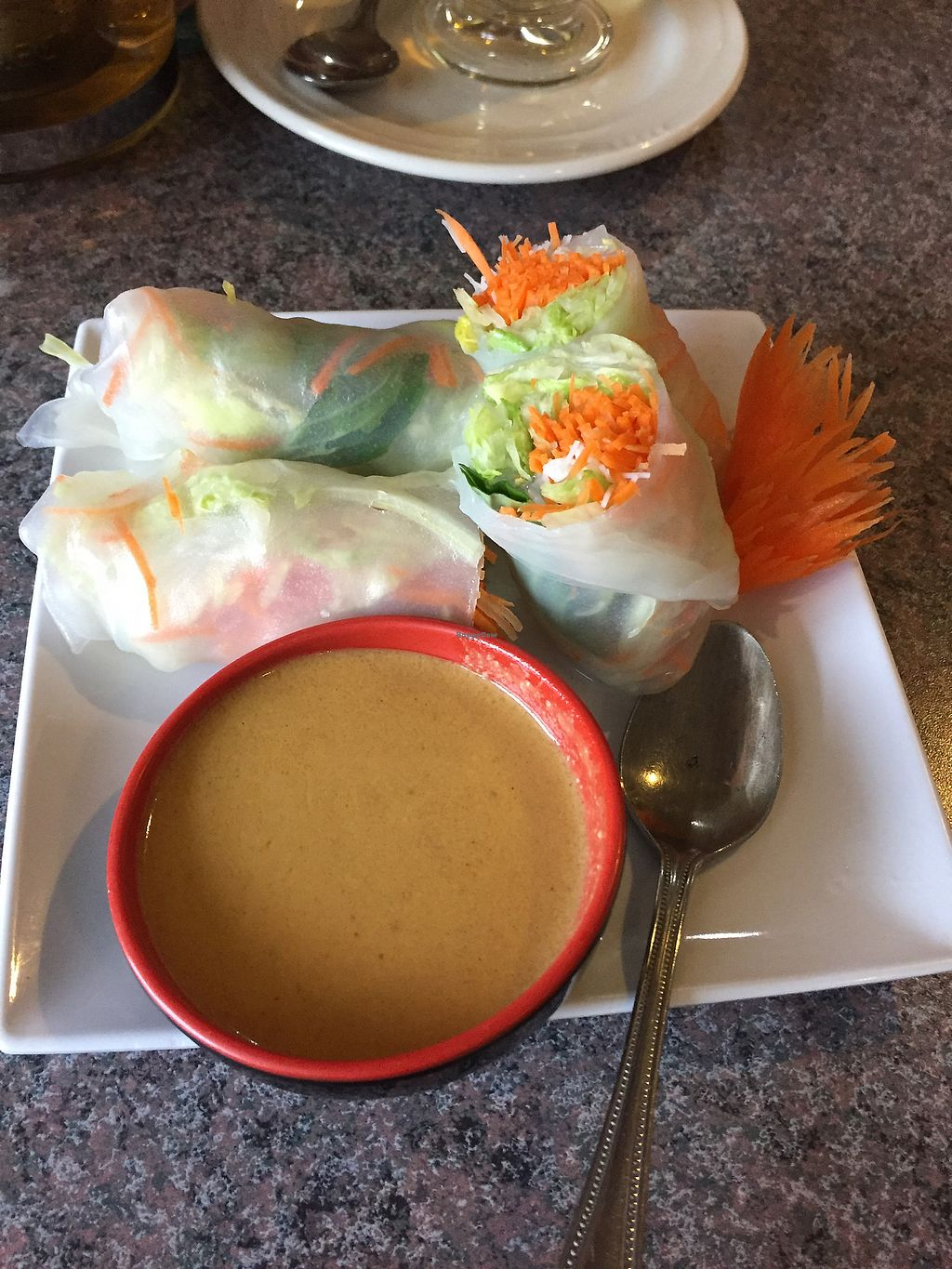 """Photo of A Mighty Thai  by <a href=""""/members/profile/shamington"""">shamington</a> <br/>Fresh rolls- veggie <br/> May 14, 2018  - <a href='/contact/abuse/image/113961/399428'>Report</a>"""