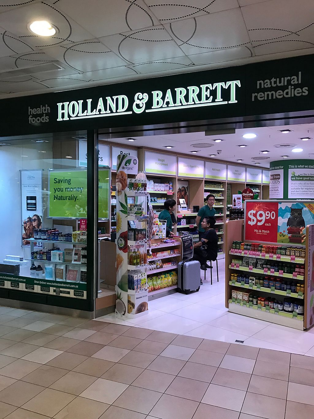 """Photo of Holland & Barrett - Tampines  by <a href=""""/members/profile/kkylaye"""">kkylaye</a> <br/>store front <br/> March 12, 2018  - <a href='/contact/abuse/image/113966/369555'>Report</a>"""