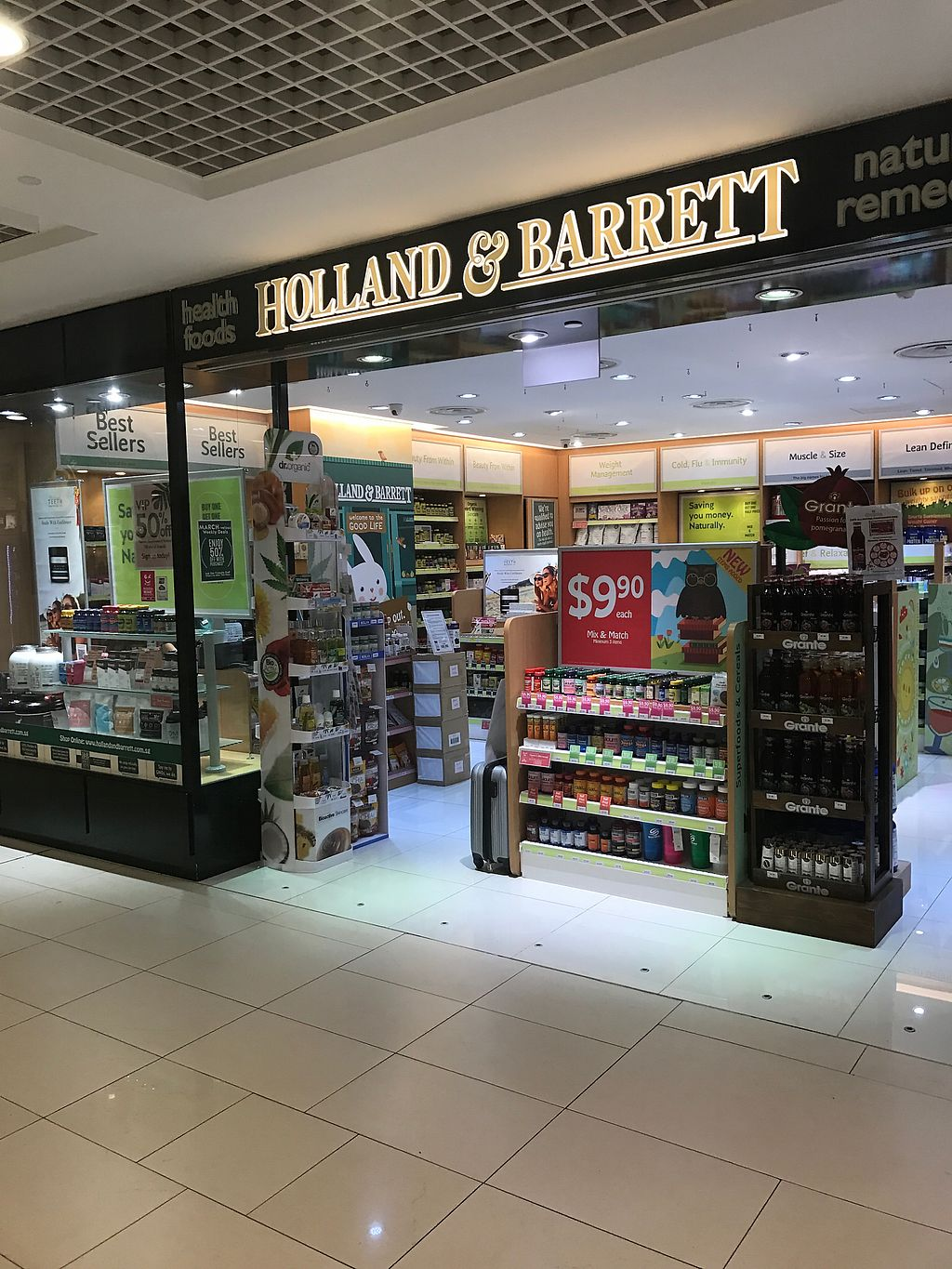 """Photo of Holland & Barrett - Parkway  by <a href=""""/members/profile/kkylaye"""">kkylaye</a> <br/>store front <br/> March 31, 2018  - <a href='/contact/abuse/image/113977/378727'>Report</a>"""