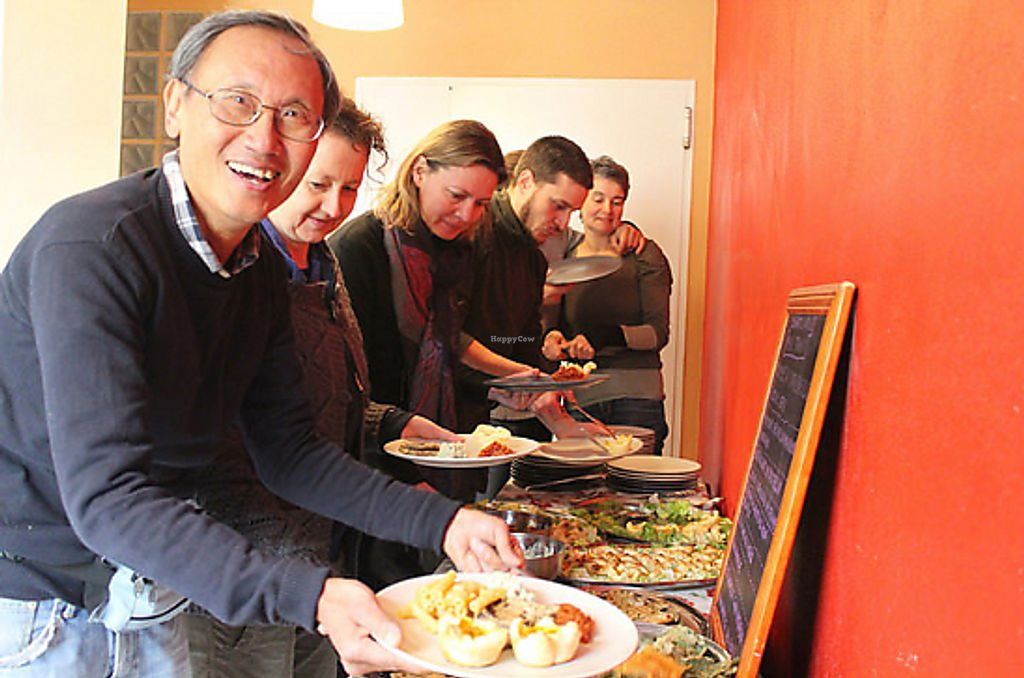 """Photo of PeR - Parco dell'Energia Rinnovabile  by <a href=""""/members/profile/GiuseSapienza"""">GiuseSapienza</a> <br/>Vegan Buffet, vegan smiles <br/> March 8, 2018  - <a href='/contact/abuse/image/114002/368268'>Report</a>"""