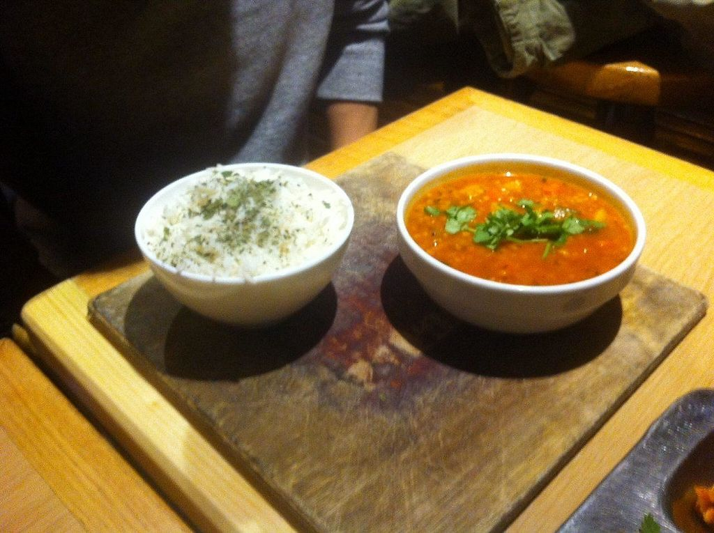 """Photo of W Der Imbiss - Prenzlauer Berg  by <a href=""""/members/profile/Sternanis"""">Sternanis</a> <br/>Dahl & rice (intead of non-vegan bread) <br/> January 11, 2017  - <a href='/contact/abuse/image/11400/210540'>Report</a>"""