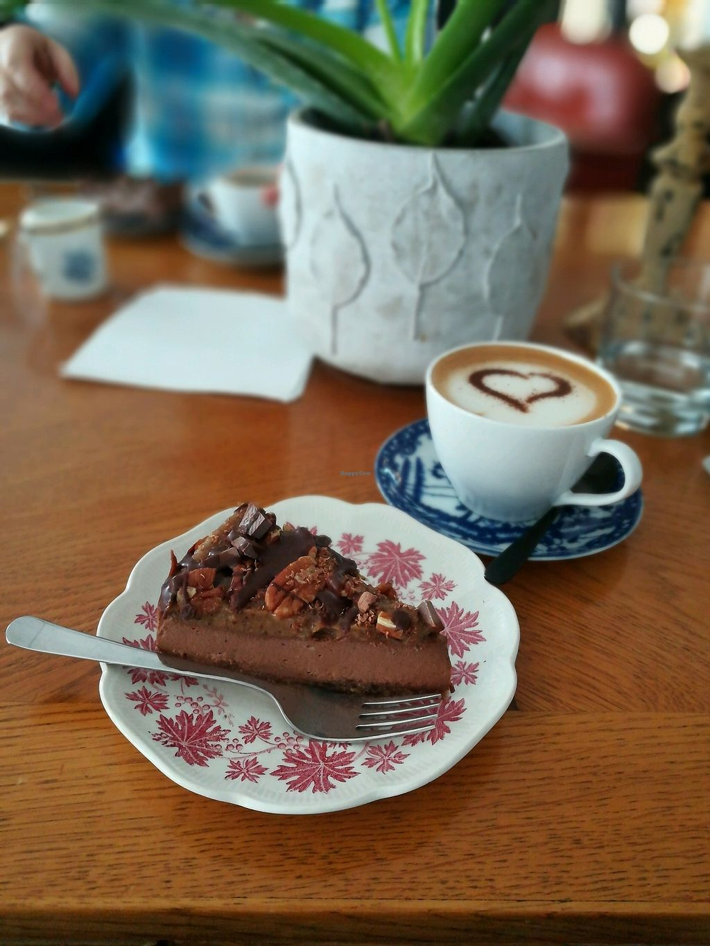 "Photo of Fruits and Yoga Cafe  by <a href=""/members/profile/Tobias94"">Tobias94</a> <br/>Raw cake with oat cappuccino <br/> March 9, 2018  - <a href='/contact/abuse/image/114063/368600'>Report</a>"