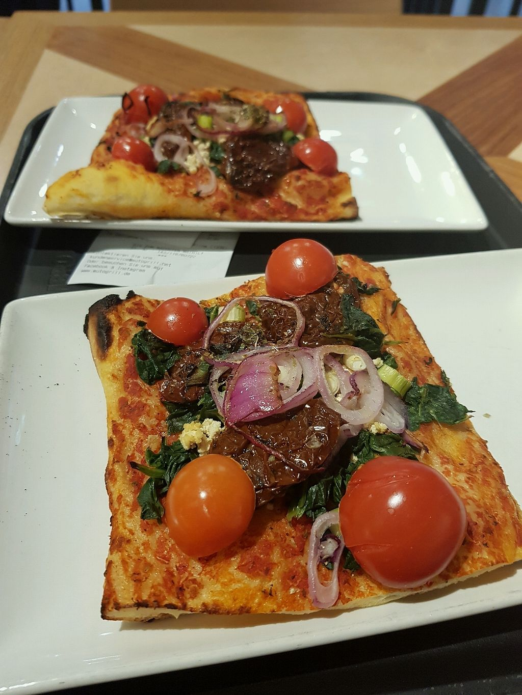 """Photo of Bistrot - Airport  by <a href=""""/members/profile/MartynaKumarka"""">MartynaKumarka</a> <br/>vegan pizza with tofu <br/> March 9, 2018  - <a href='/contact/abuse/image/114067/368567'>Report</a>"""