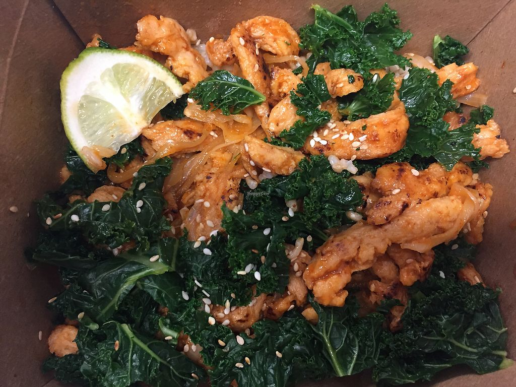 """Photo of Richi's - Food Cart  by <a href=""""/members/profile/schonstal"""">schonstal</a> <br/>Sriracha Bowl <br/> March 12, 2018  - <a href='/contact/abuse/image/114085/369933'>Report</a>"""