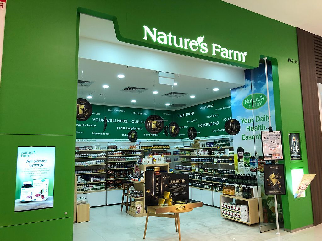 "Photo of Nature's Farm - VivoCity  by <a href=""/members/profile/CherylQuincy"">CherylQuincy</a> <br/>Shop front <br/> April 18, 2018  - <a href='/contact/abuse/image/114107/387503'>Report</a>"