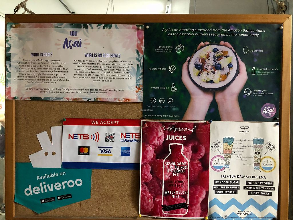 """Photo of An Acai Affair  by <a href=""""/members/profile/CherylQuincy"""">CherylQuincy</a> <br/>Notice board  <br/> March 17, 2018  - <a href='/contact/abuse/image/114127/371951'>Report</a>"""