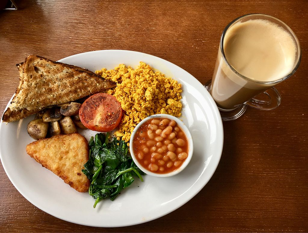 "Photo of Wentworth Cafe  by <a href=""/members/profile/AmySara2011"">AmySara2011</a> <br/>'Vegan breakfast' and soya latte  <br/> March 13, 2018  - <a href='/contact/abuse/image/114166/370172'>Report</a>"