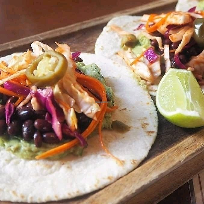 """Photo of Small Bar  by <a href=""""/members/profile/Guacamole"""">Guacamole</a> <br/>black bean tacos <br/> March 15, 2018  - <a href='/contact/abuse/image/114215/370892'>Report</a>"""