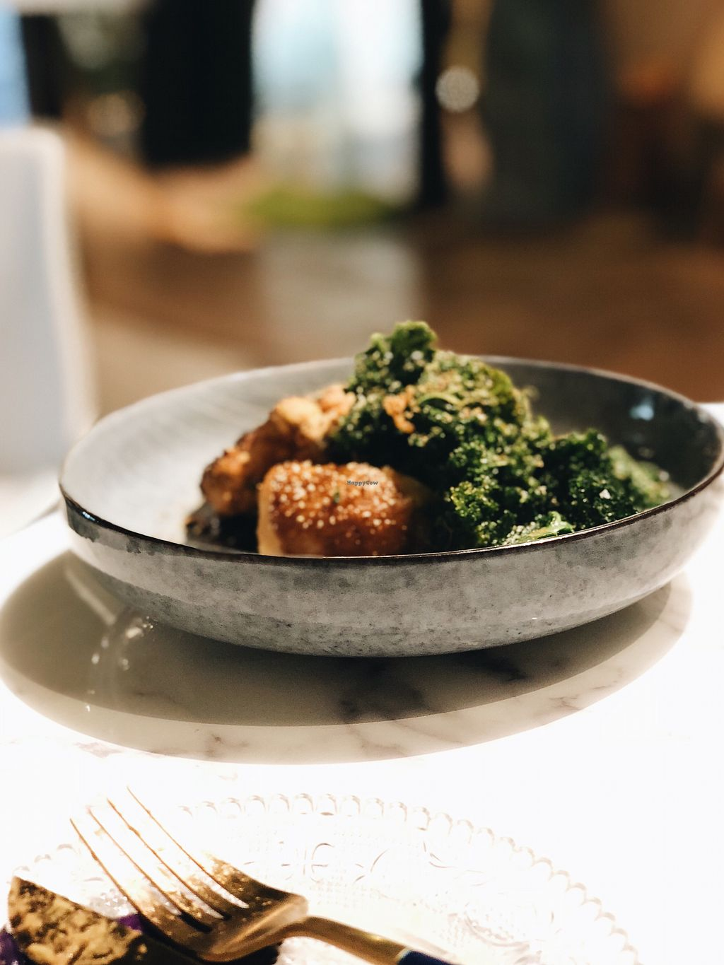 """Photo of HRVST by Kilter Avenue  by <a href=""""/members/profile/consciouscookieee"""">consciouscookieee</a> <br/>hay salt baked celeriac <br/> May 10, 2018  - <a href='/contact/abuse/image/114229/397654'>Report</a>"""