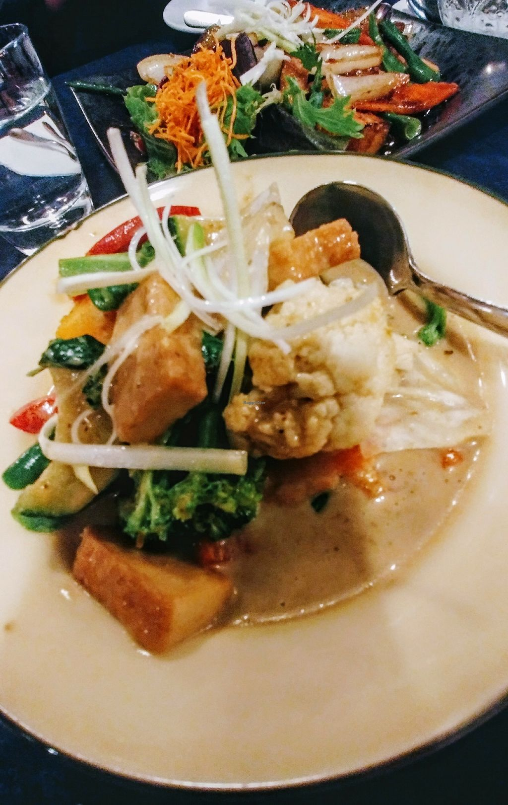 """Photo of enTHAIced  by <a href=""""/members/profile/karlaess"""">karlaess</a> <br/>Gang keow wan puk (green curry)  <br/> April 19, 2018  - <a href='/contact/abuse/image/114234/388061'>Report</a>"""