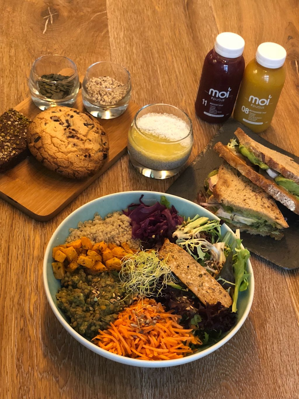 """Photo of Moi  by <a href=""""/members/profile/Fhuvet"""">Fhuvet</a> <br/>Vegan dinner <br/> March 22, 2018  - <a href='/contact/abuse/image/114236/374402'>Report</a>"""