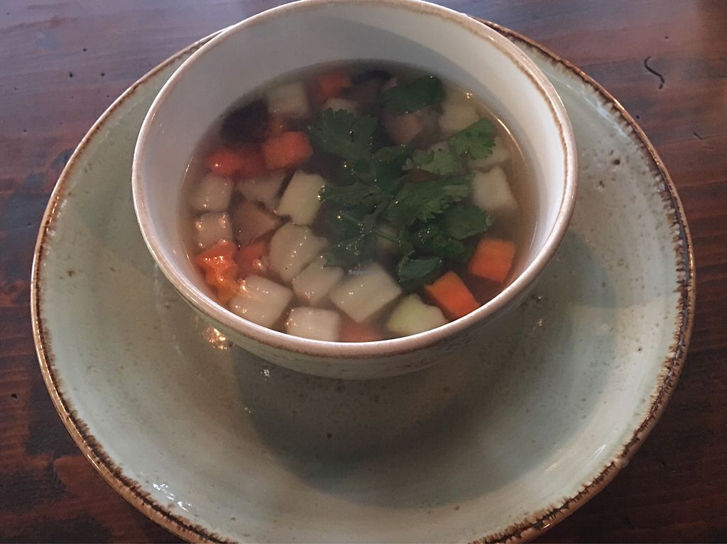 """Photo of Vietal-Kitchen  by <a href=""""/members/profile/AndyT"""">AndyT</a> <br/>Veggie soup from daily special <br/> April 4, 2018  - <a href='/contact/abuse/image/114240/380680'>Report</a>"""