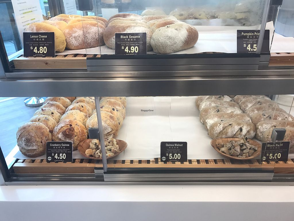 """Photo of Duke Bakery - Bedok Mall  by <a href=""""/members/profile/kkylaye"""">kkylaye</a> <br/>vegetarian-friendly <br/> March 30, 2018  - <a href='/contact/abuse/image/114321/378143'>Report</a>"""