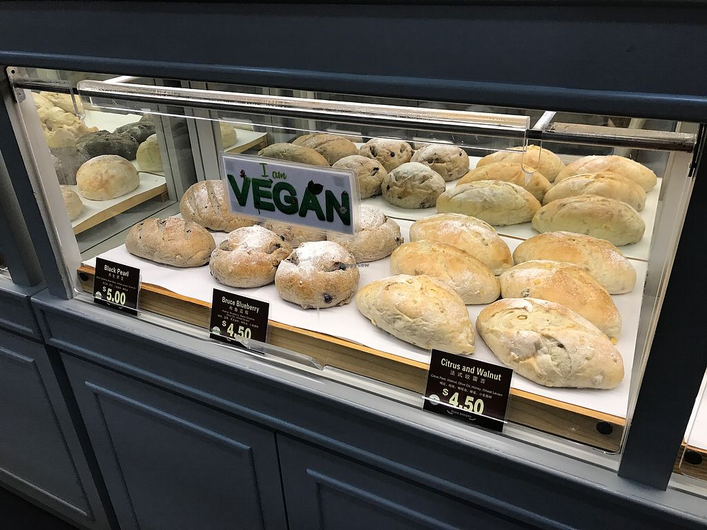 "Photo of Duke Bakery - Paya Lebar Square  by <a href=""/members/profile/Sweetveganneko"">Sweetveganneko</a> <br/>More vegan options <br/> March 14, 2018  - <a href='/contact/abuse/image/114322/370426'>Report</a>"