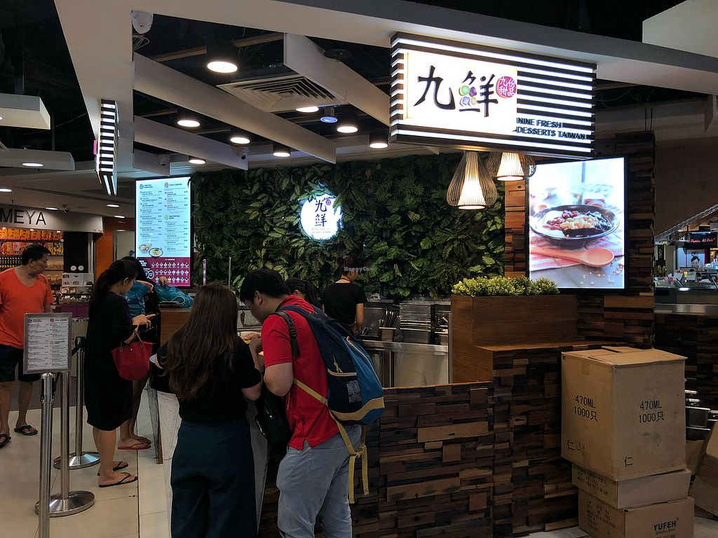 """Photo of Nine Fresh - Hougang Mall  by <a href=""""/members/profile/CherylQuincy"""">CherylQuincy</a> <br/>Exterior <br/> March 21, 2018  - <a href='/contact/abuse/image/114329/373824'>Report</a>"""