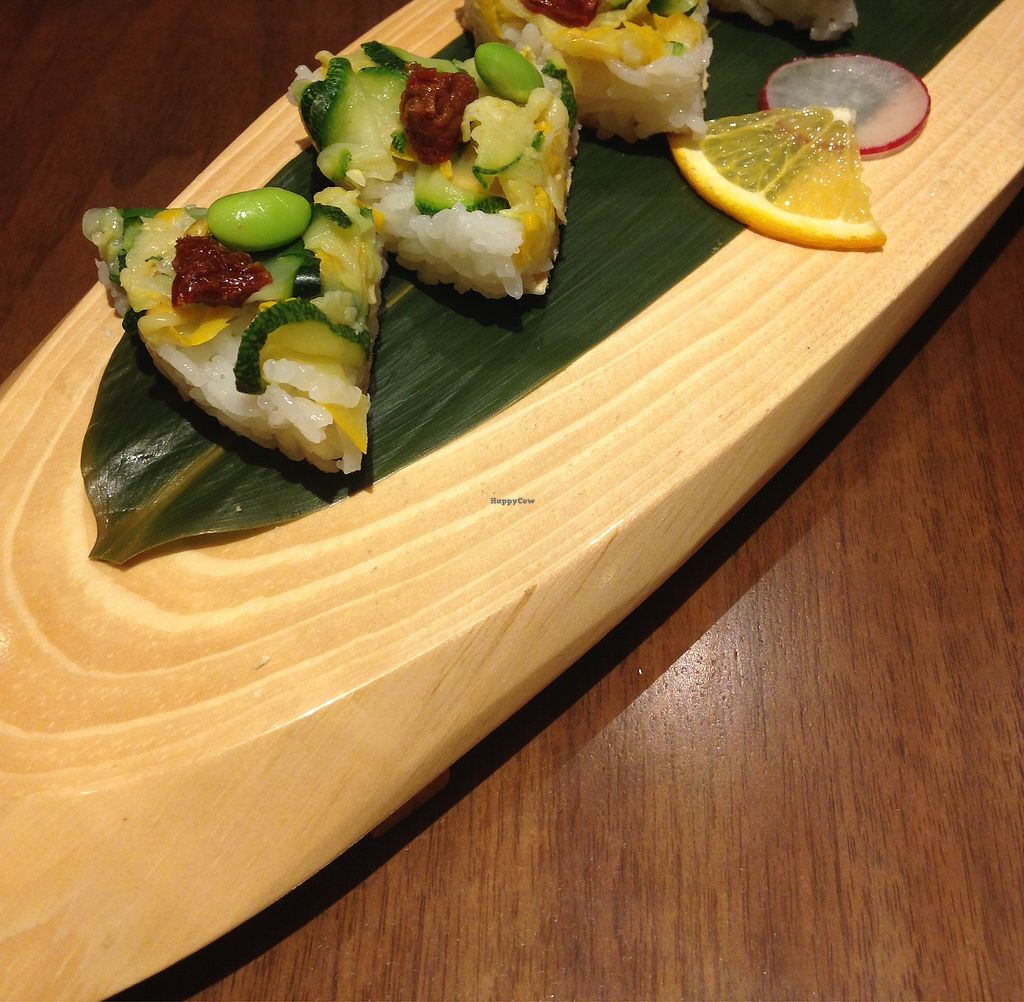 """Photo of Pa Pa Ya  by <a href=""""/members/profile/SophieCarolyn"""">SophieCarolyn</a> <br/>Vegan friendly sushi <br/> March 14, 2018  - <a href='/contact/abuse/image/114349/370379'>Report</a>"""