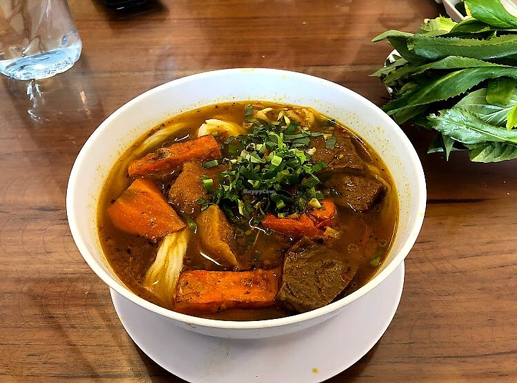 "Photo of REMOVED: Nha Nghi & Nha Hang Chay Dai Loc  by <a href=""/members/profile/Madzison"">Madzison</a> <br/>Mock beef pho  <br/> March 13, 2018  - <a href='/contact/abuse/image/114369/370112'>Report</a>"