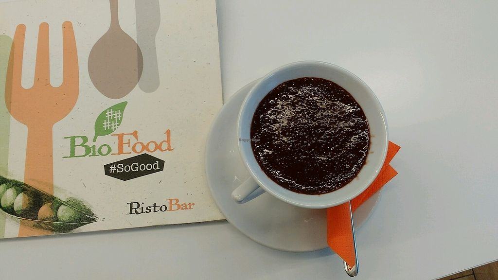 "Photo of BioFood  by <a href=""/members/profile/Susan1"">Susan1</a> <br/>Vegan hot chocolate <br/> March 25, 2018  - <a href='/contact/abuse/image/114401/375887'>Report</a>"