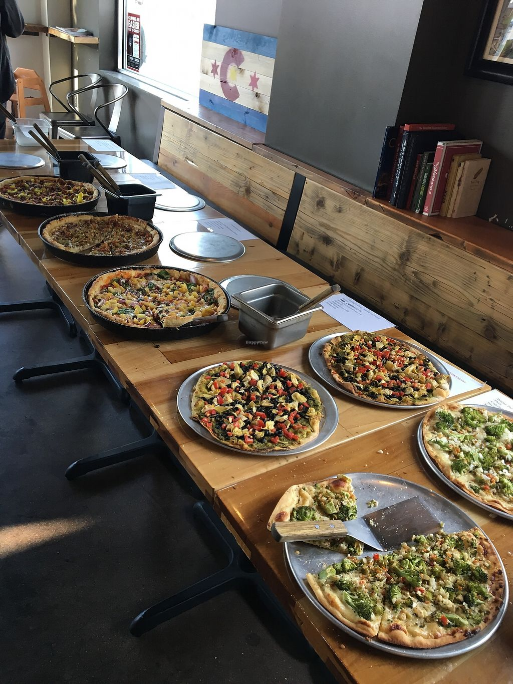 """Photo of Denver Deep Dish  by <a href=""""/members/profile/Pizzaguy"""">Pizzaguy</a> <br/>Vegan Pizza <br/> March 12, 2018  - <a href='/contact/abuse/image/114404/369921'>Report</a>"""