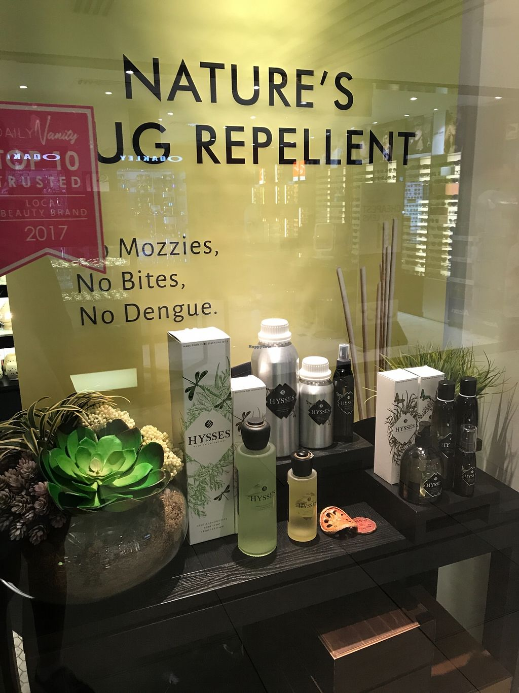 "Photo of HYSSES - Raffles City  by <a href=""/members/profile/Sweetveganneko"">Sweetveganneko</a> <br/>Natural Bug repellent <br/> March 13, 2018  - <a href='/contact/abuse/image/114424/370181'>Report</a>"
