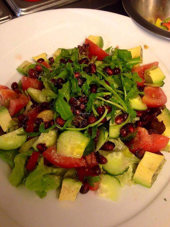 """Photo of Freiraum  by <a href=""""/members/profile/Franzi-Frenz"""">Franzi-Frenz</a> <br/>Vegan Salad <br/> March 14, 2018  - <a href='/contact/abuse/image/114457/370459'>Report</a>"""