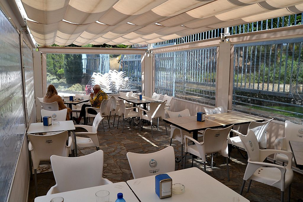 """Photo of Jazzy Bar  by <a href=""""/members/profile/Jazzybar"""">Jazzybar</a> <br/>Comfortable terrace with views to the Roman Reservoir <br/> March 31, 2018  - <a href='/contact/abuse/image/114507/378978'>Report</a>"""