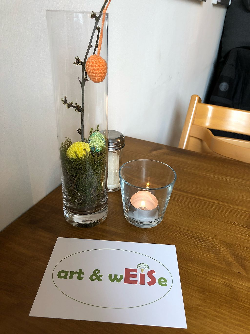 "Photo of Eiscafe art & wEISe  by <a href=""/members/profile/AnjaSulanc"">AnjaSulanc</a> <br/>Ostern 2018 <br/> April 6, 2018  - <a href='/contact/abuse/image/114511/381417'>Report</a>"