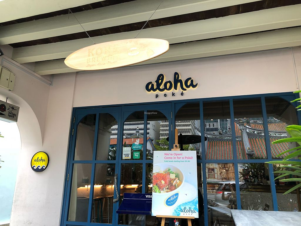 """Photo of Aloha Poke - Amoy  by <a href=""""/members/profile/CherylQuincy"""">CherylQuincy</a> <br/>Shop front <br/> March 16, 2018  - <a href='/contact/abuse/image/114541/371235'>Report</a>"""