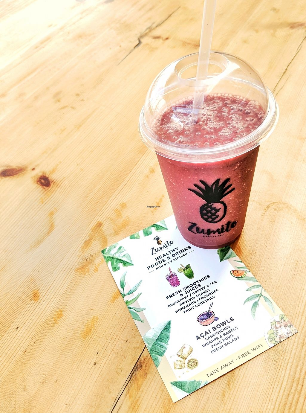 """Photo of Zumito  by <a href=""""/members/profile/DanielReynolds"""">DanielReynolds</a> <br/>Yummy Smoothie  <br/> March 16, 2018  - <a href='/contact/abuse/image/114548/371398'>Report</a>"""