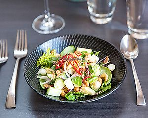 """Photo of Paladarr Thai Issan  by <a href=""""/members/profile/spice-nation"""">spice-nation</a> <br/>Yum tua (nut salad) <br/> April 18, 2018  - <a href='/contact/abuse/image/114549/387605'>Report</a>"""