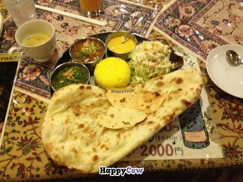 """Photo of Roopali  by <a href=""""/members/profile/iokan"""">iokan</a> <br/>Vegetarian set menu <br/> December 9, 2013  - <a href='/contact/abuse/image/11455/60101'>Report</a>"""