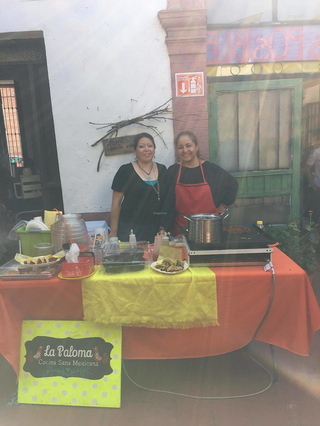 """Photo of La Paloma Cocina Sana y Vegana  by <a href=""""/members/profile/fabiolamm"""">fabiolamm</a> <br/>Diana, the owner <br/> April 2, 2018  - <a href='/contact/abuse/image/114593/379611'>Report</a>"""