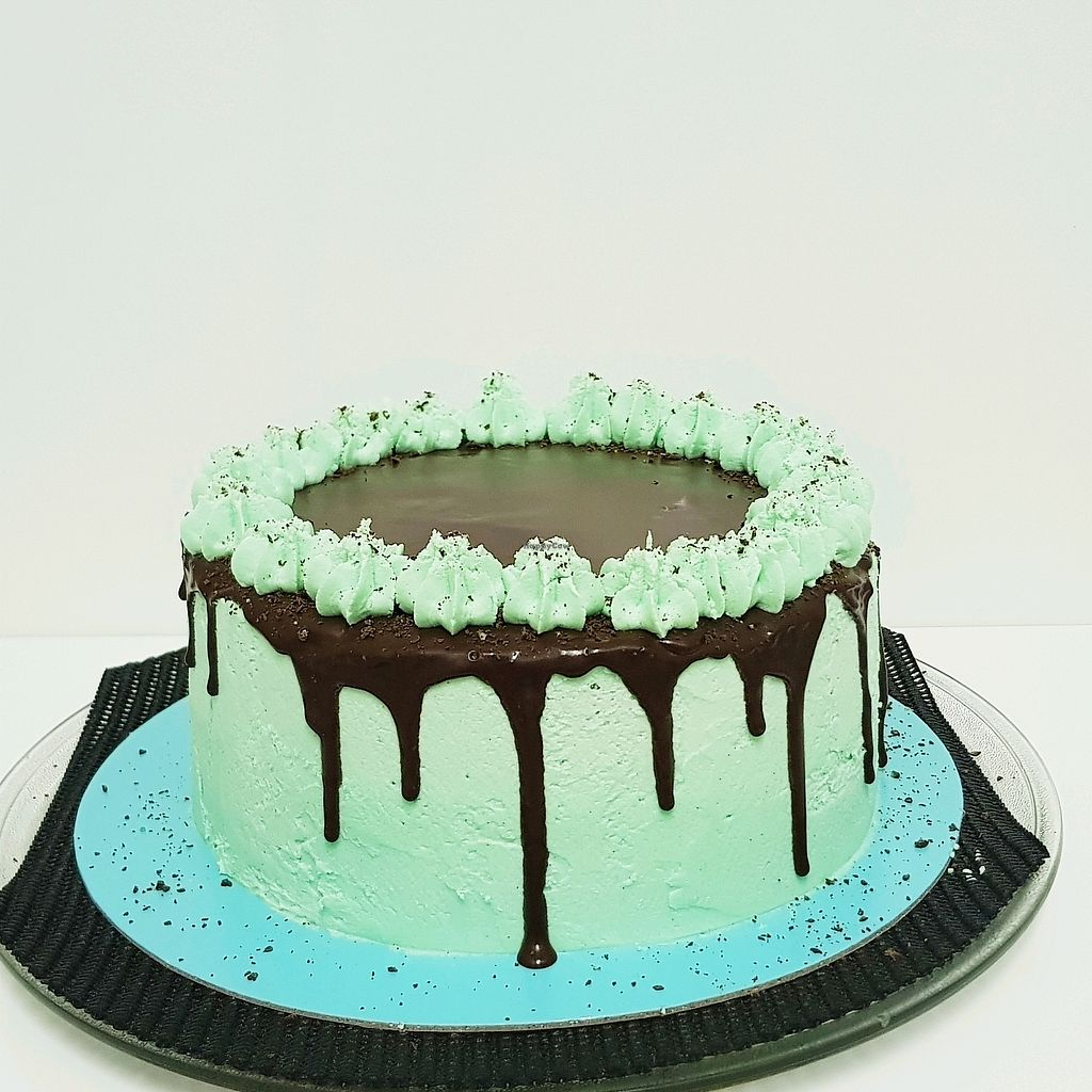 """Photo of Kynd Cakes  by <a href=""""/members/profile/RebekkaClaire"""">RebekkaClaire</a> <br/>Chocolate Peppermint Cake <br/> April 4, 2018  - <a href='/contact/abuse/image/114649/380484'>Report</a>"""
