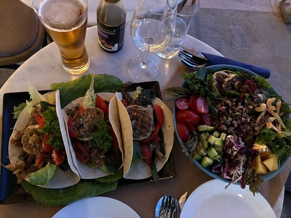 "Photo of Nemobar  by <a href=""/members/profile/PhilippaMalenoir"">PhilippaMalenoir</a> <br/>Mushroom Fajitas and Buddha Bowl <br/> March 27, 2018  - <a href='/contact/abuse/image/114652/376851'>Report</a>"