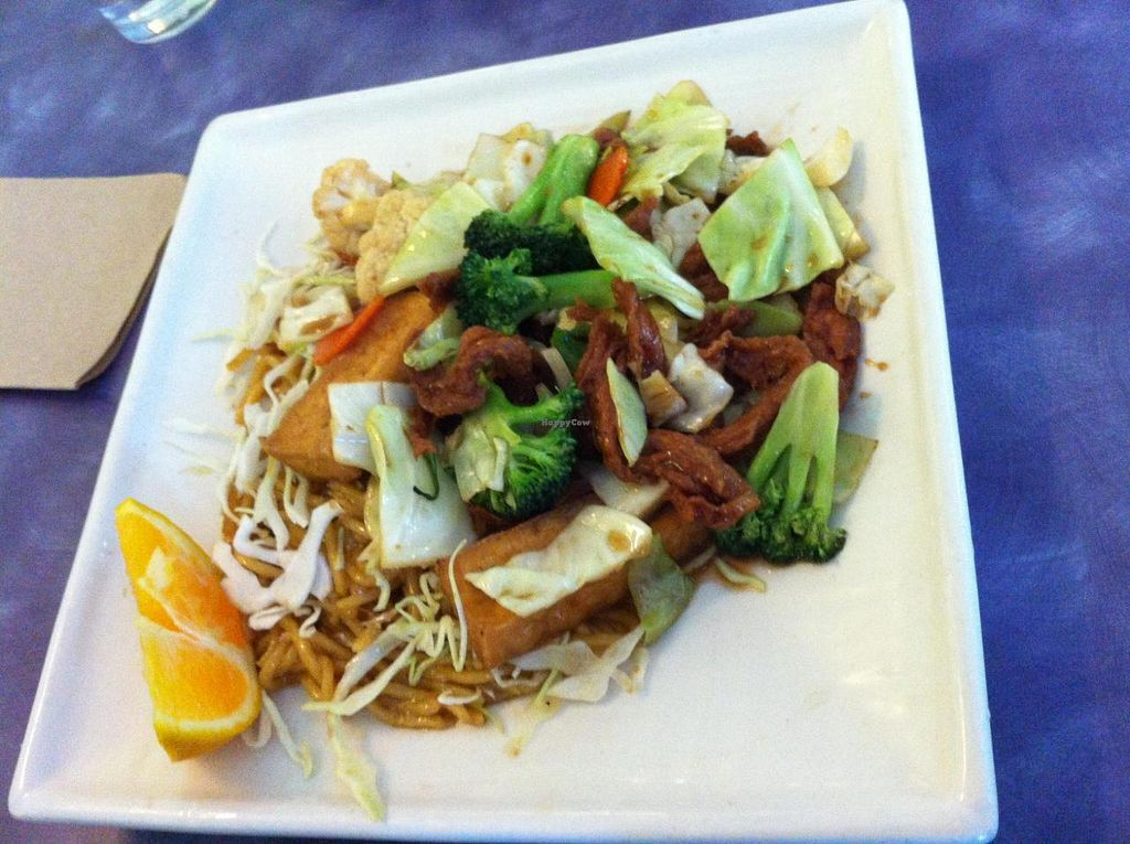"""Photo of Sweet Lemon Vegan Bistro  by <a href=""""/members/profile/Posi%20Britt"""">Posi Britt</a> <br/>Noodle dish. Can't remember the name <br/> June 25, 2014  - <a href='/contact/abuse/image/11468/72764'>Report</a>"""
