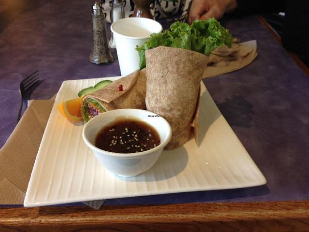 Photo of Sweet Lemon Vegan Bistro  by drees2014 <br/>Wrap <br/> October 20, 2014  - <a href='/contact/abuse/image/11468/83484'>Report</a>
