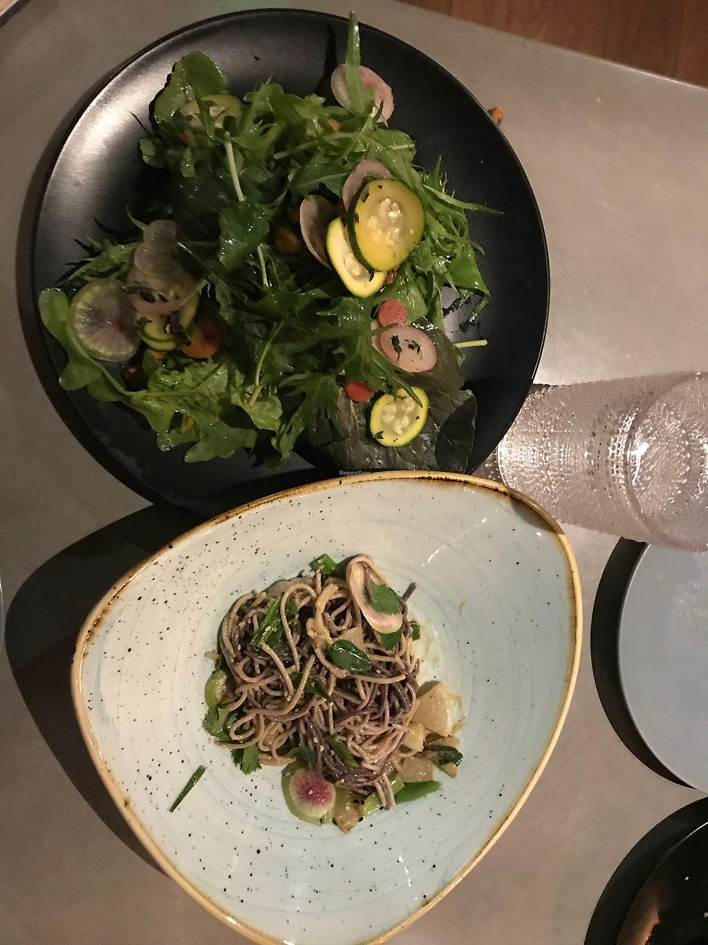 """Photo of Reading Room  by <a href=""""/members/profile/katiakanner"""">katiakanner</a> <br/>delicious salad (ask for no cheese) & amazing vegan noodle dish  <br/> March 16, 2018  - <a href='/contact/abuse/image/114711/371478'>Report</a>"""