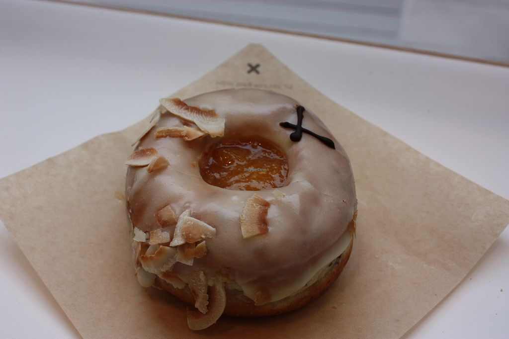 """Photo of Crosstown Vegan  by <a href=""""/members/profile/Vegancucc"""">Vegancucc</a> <br/>This one is with tropical jam and toasted coconuts <br/> March 19, 2018  - <a href='/contact/abuse/image/114749/373020'>Report</a>"""