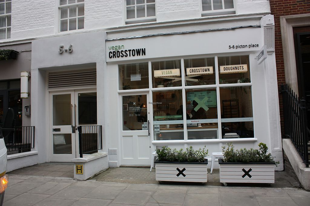 """Photo of Crosstown Vegan  by <a href=""""/members/profile/Vegancucc"""">Vegancucc</a> <br/>Store front <br/> March 19, 2018  - <a href='/contact/abuse/image/114749/373027'>Report</a>"""