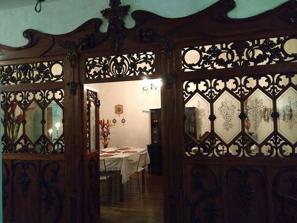 """Photo of Casa Carola  by <a href=""""/members/profile/RickH"""">RickH</a> <br/>The very traditional dining room """"the most important part of a Colombian house"""" <br/> March 17, 2018  - <a href='/contact/abuse/image/114770/371931'>Report</a>"""