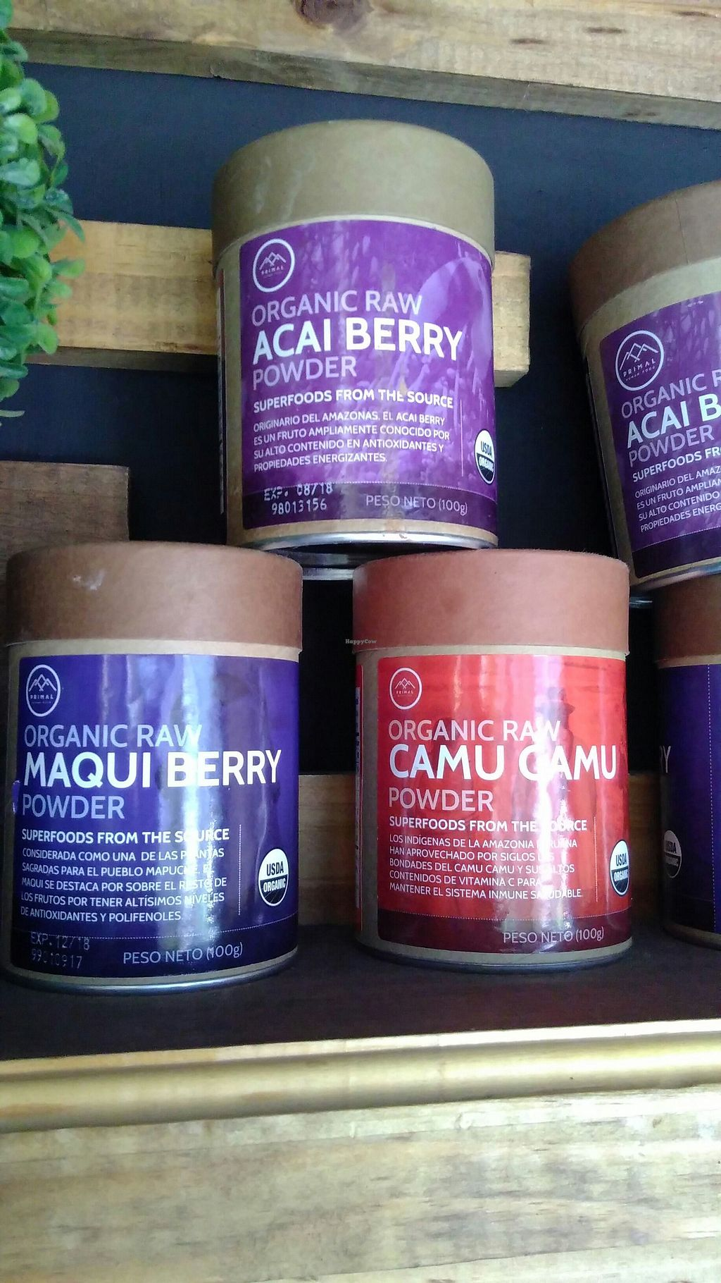 """Photo of O Smoothiebar & Market  by <a href=""""/members/profile/ajito"""">ajito</a> <br/>Organic powders <br/> March 17, 2018  - <a href='/contact/abuse/image/114773/371651'>Report</a>"""