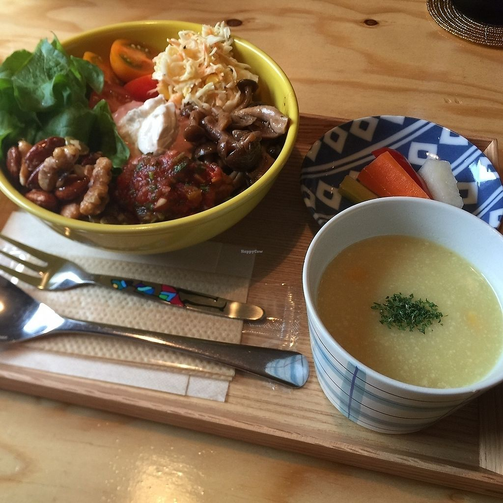 """Photo of Veggie Joint  by <a href=""""/members/profile/giruja"""">giruja</a> <br/>Burrito Bowl Set Meal~ <br/> March 21, 2018  - <a href='/contact/abuse/image/114782/373705'>Report</a>"""