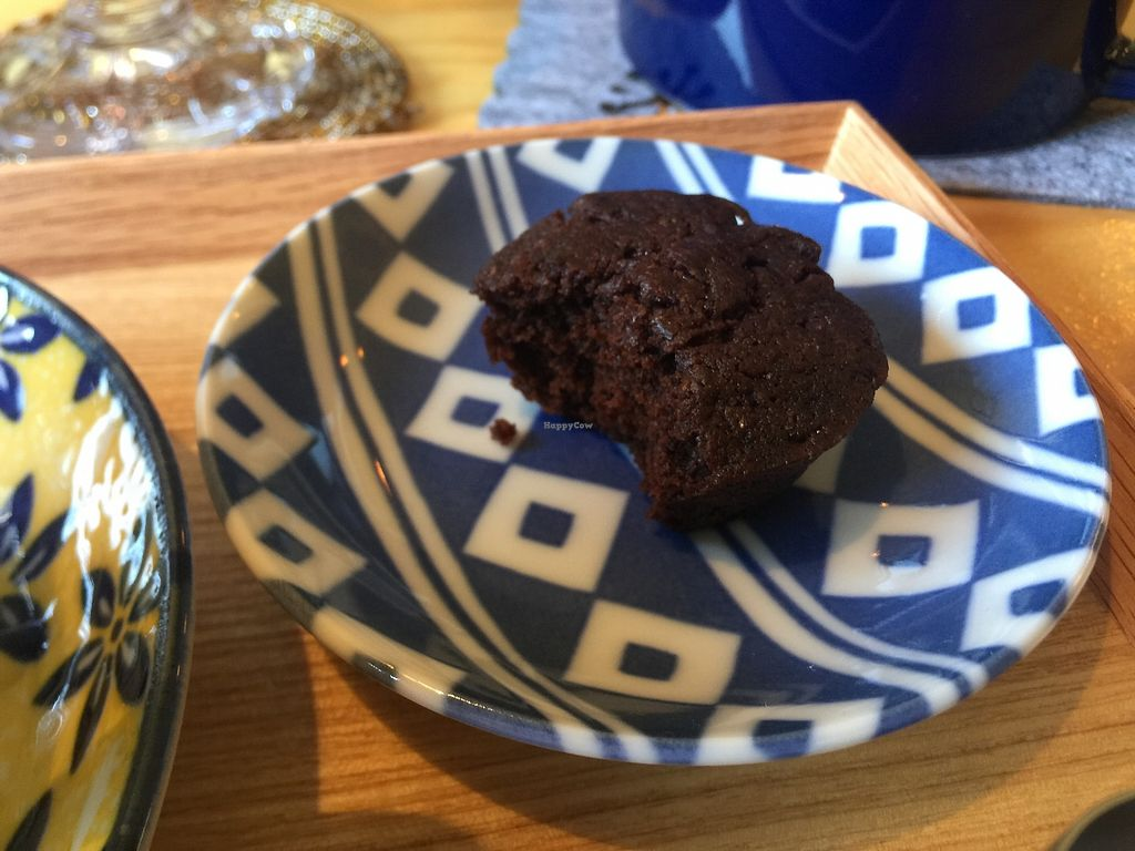 """Photo of Veggie Joint  by <a href=""""/members/profile/giruja"""">giruja</a> <br/>Delicious guilt-free vegan brownies!!! <br/> April 8, 2018  - <a href='/contact/abuse/image/114782/382345'>Report</a>"""