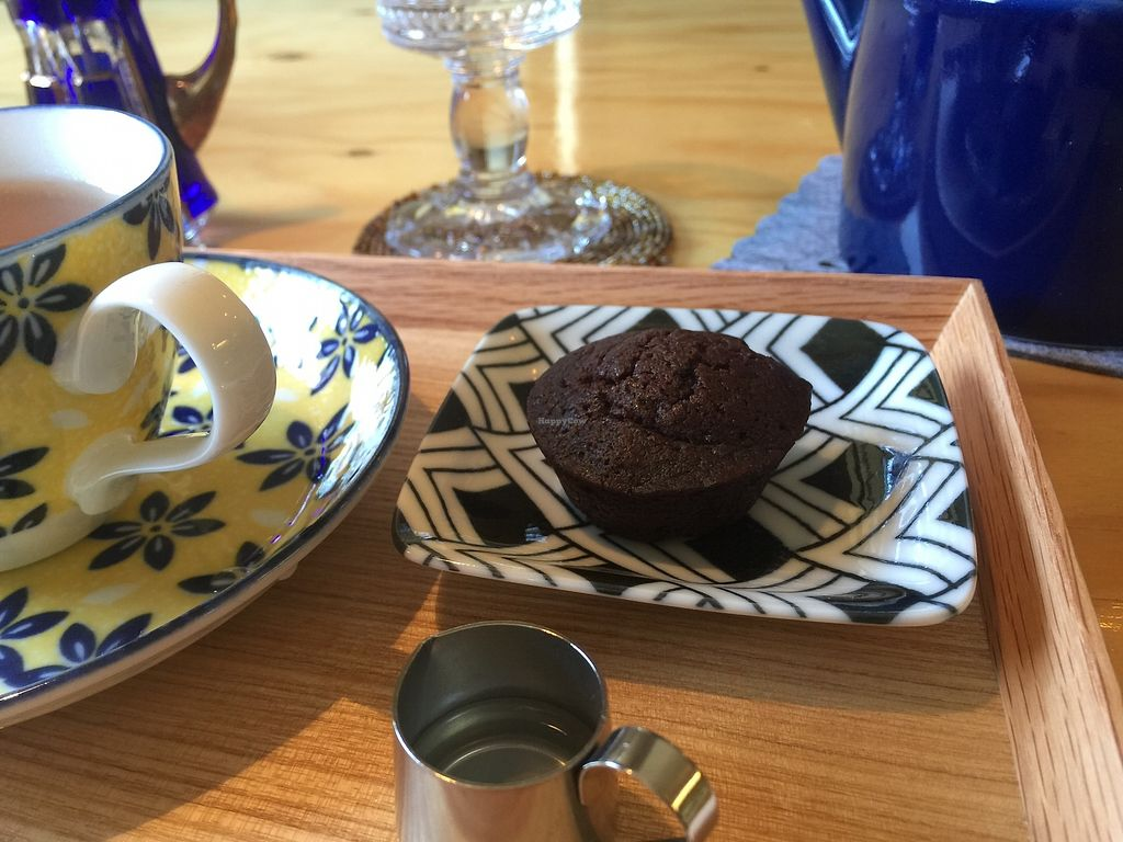 """Photo of Veggie Joint  by <a href=""""/members/profile/giruja"""">giruja</a> <br/>Delicious guilt-free vegan brownies!!! <br/> April 8, 2018  - <a href='/contact/abuse/image/114782/382346'>Report</a>"""